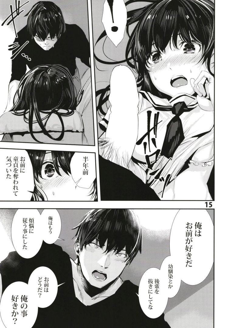 遠距離恋愛 男性心理 エロ同人誌情報館014