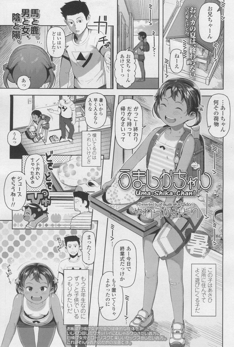日焼け跡の残る美少女わいせつ映像集 エロ同人誌情報館001