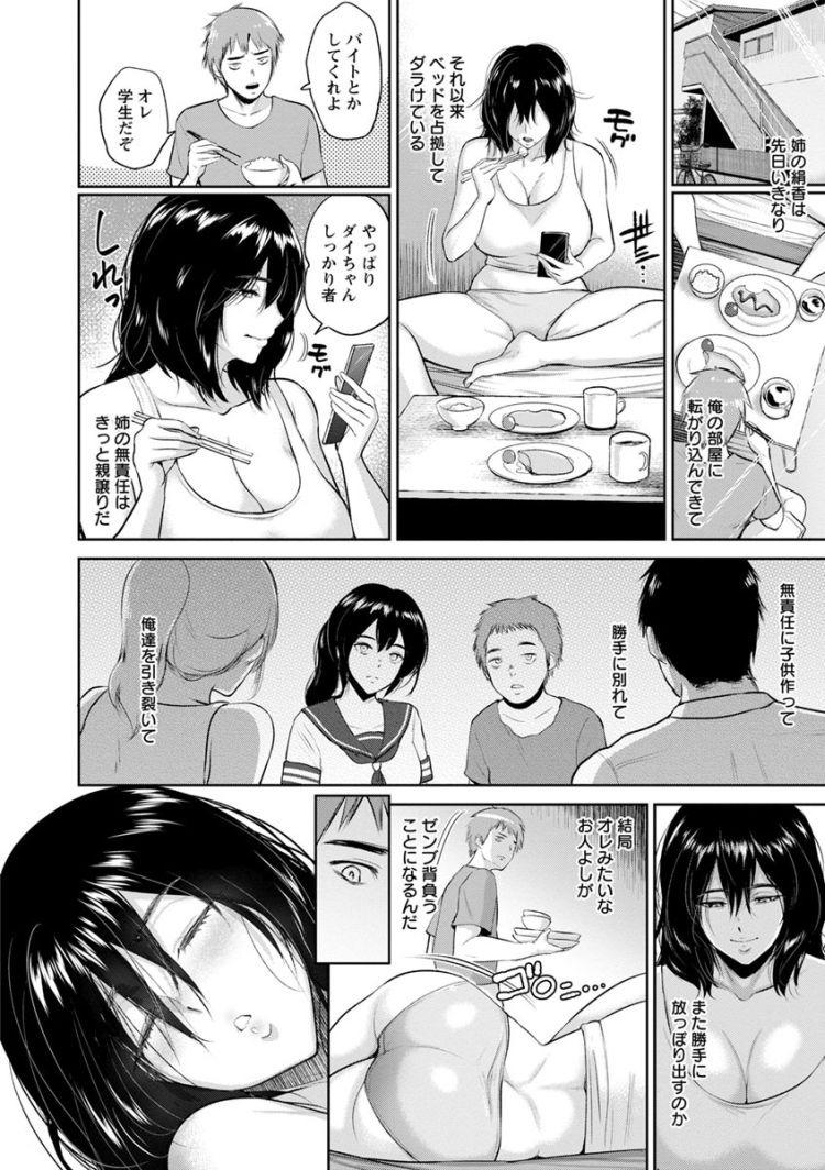 姉貴とお風呂エロ漫画 エロ同人誌情報館002